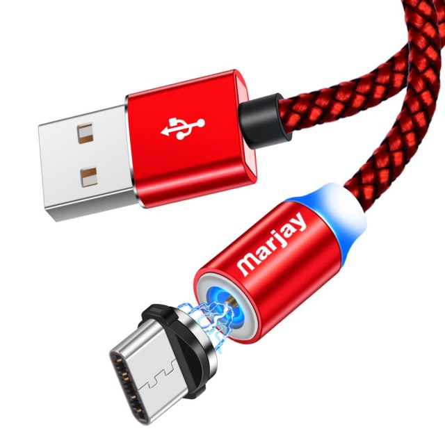 Magnetic Micro USB Cable For iPhone Samsung Android Fast Charging Magnet Charger USB Type C Cable Mobile Phone Cord Wire